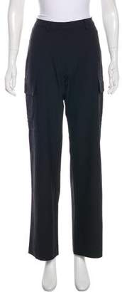 Fendi Wide-Leg High-Rise Pants