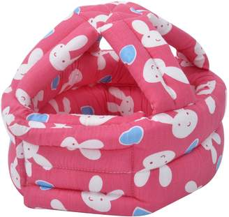 Simplicity Baby & Infant Toddler No Bumps Safety Helmet Head Cushion, Red Rabbit
