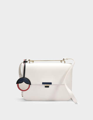 Furla Elisir S Crossbody Bag in Petalo Calfskin
