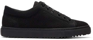 Etq Amsterdam Black Knitted Low 1 Sneakers