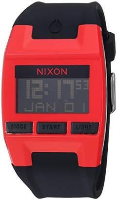 Nixon Men's 'Comp' Quartz Plastic and Silicone Casual Watch