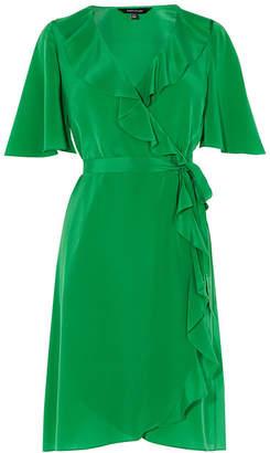 Karen Millen Ruffled Silk Dress