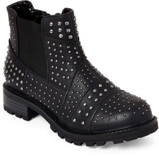 Nina Kids Girls) Black Juliette Studded Ankle Boots