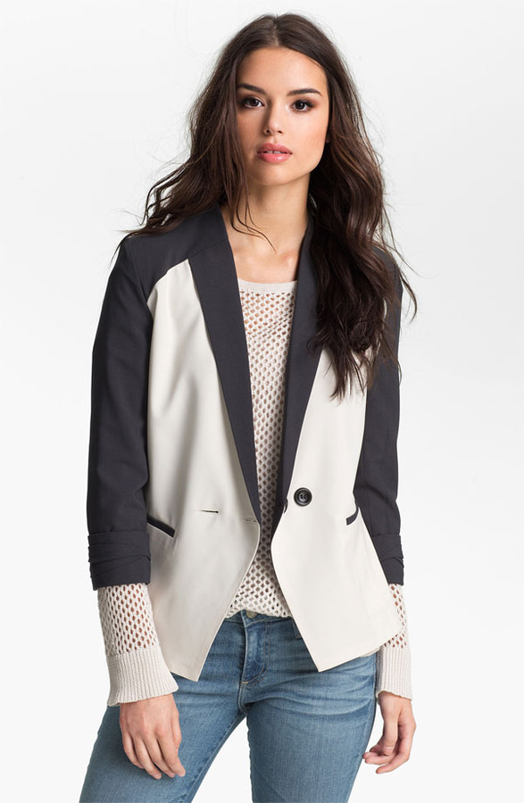 Beatrix GREYLIN 'Beatrix' Colorblock Blazer
