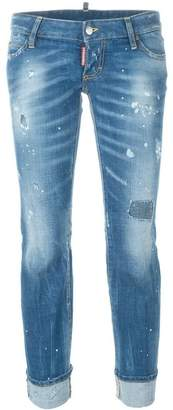 DSQUARED2 'Sexy Twist' flared jeans