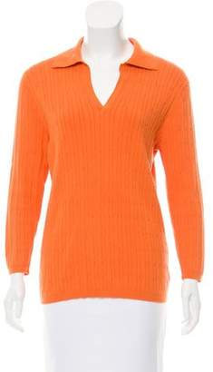 Magaschoni Long Sleeve Knit Sweater