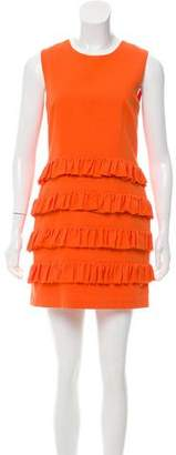 Erin Fetherston ERIN by Ruffled Sleeveless Dress