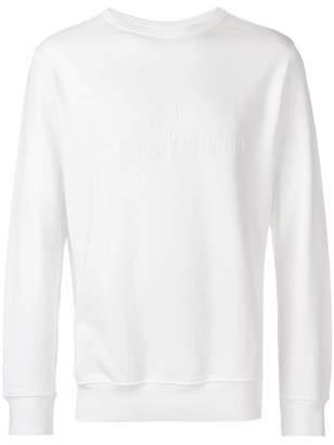 Stone Island branded jersey sweater