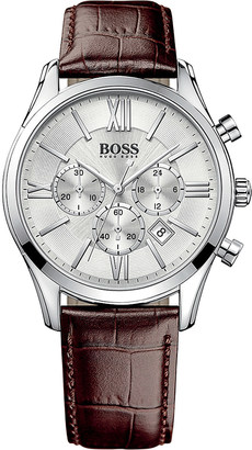HUGO BOSS 1513195 ambassador stainless steel watch $265 thestylecure.com