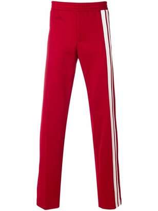 Valentino side stripe track pants