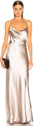 Galvan Whiteley Dress in Platinum | FWRD
