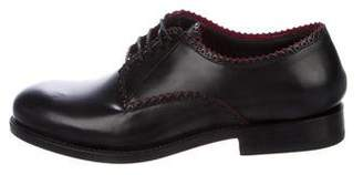 Alaia Derby Leather Oxfords