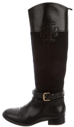 Tory BurchTory Burch Leather-Accented Boots