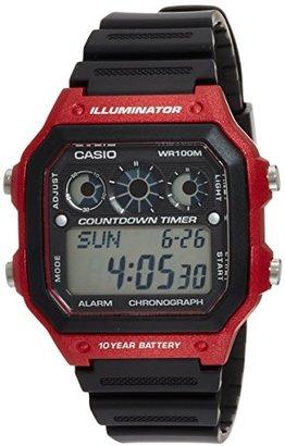 American Rag (アメリカン ラグ) - (アメリカンラグシー)AMERICAN RAG CIE CASIO カシオ COUNT DOWN TIMER カウントダウン タイマー 腕時計 WEB 限定 0061 RD/MX Red配色 101-BRI-AE1300WH RD/MX メンズ