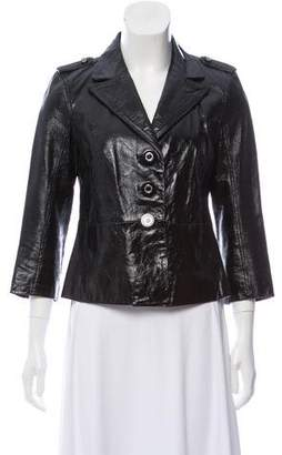 Tory Burch Patent Leather Jacket