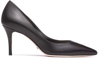 Sebastian Milano Black Leather Pumps