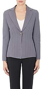 Giorgio Armani Women's Ottoman Single-Button Jacket - Purple