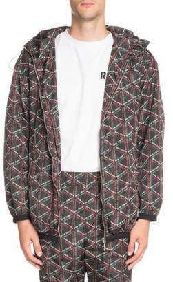 Palm Angels Monogram Wind-Resistant Jacket