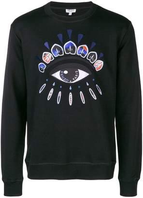 Kenzo Indonesian Flower Eye sweatshirt