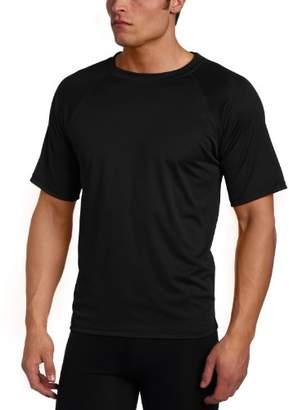 Kanu Surf Men's Solid Rashguard UPF 50+ Swim Shirt