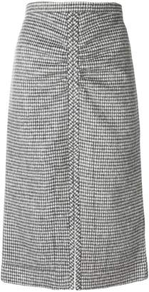 No.21 knitted midi skirt