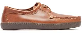 Quoddy Tukabuk Ii Leather Moccasin Loafers - Mens - Brown