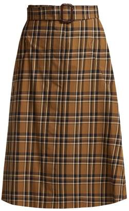 S Max Mara - Jack Skirt - Womens - Tan Multi