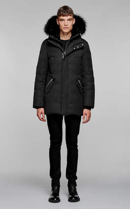 Mackage Edward-B Hip Length Down Winter Parka With Fur