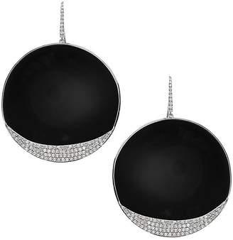 Lana Women's Flawless 14K White Gold & Diamond Round Drop Earrings
