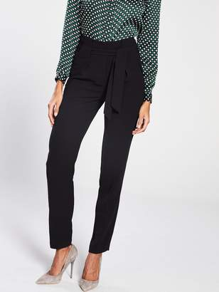 Very High Waisted Tapered Leg Trouser