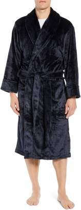 Daniel Buchler Plaid Plush Jacquard Robe