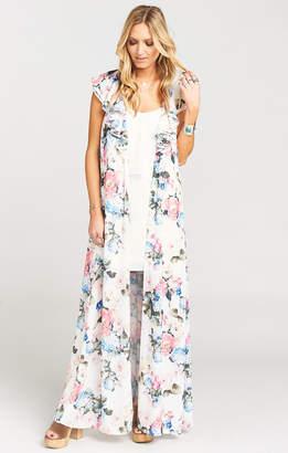 Show Me Your Mumu Rapunzel Cape Dress ~ Sweet Floral
