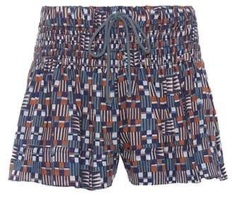 Etoile Isabel Marant Isabel Marant, Étoile Naoko cotton shorts
