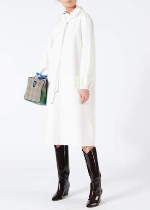 Tibi Bond Stretch Knit Anorak Dress