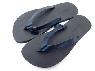 Hermes Leather flip flops