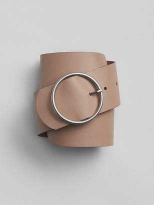 Gap Wide Circle-Buckle Belt