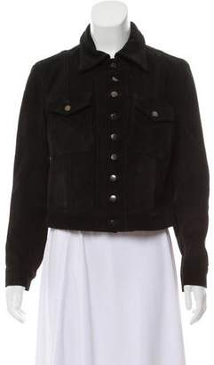 Current/Elliott Long Sleeve Casual Jacket
