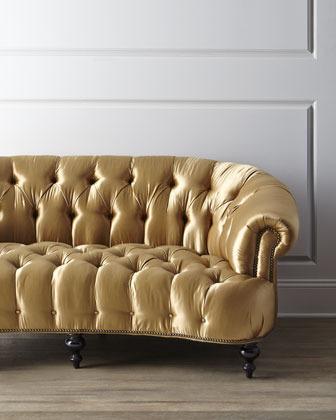 Old Hickory Tannery Lola Tufted Sofa