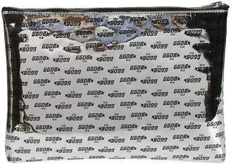 Golden Goose Printed Logo Clutch