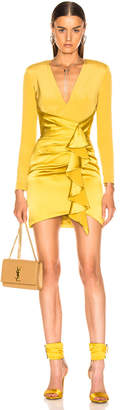 HANEY Lilly Dress in Chartreuse | FWRD