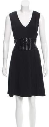 Marc Jacobs Sleeveless Embellished Dress