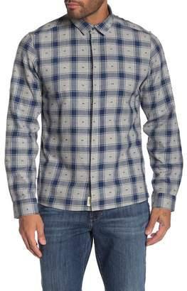 Civil Society Perry Long Sleeve Covered Placket Plaid Shirt
