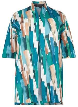 Marina Rinaldi Linen-Cotton Jacket