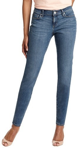 "LOFT Curvy Skinny Ankle Jeans in Fresh Blue Wash with 27 1/2"" Inseam"