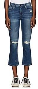 Blank NYC Blanknyc Women's The Micro Kick-Flared Jeans - Blue Size 25