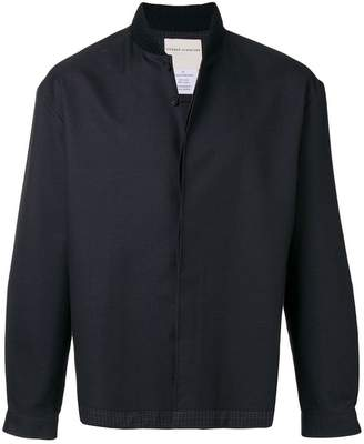 Stephan Schneider check trim bomber jacket