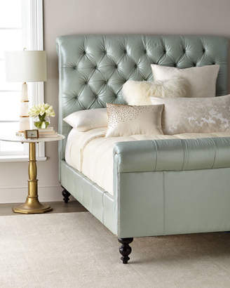Old Hickory Tannery Spence Hand-Tufted Queen Bed