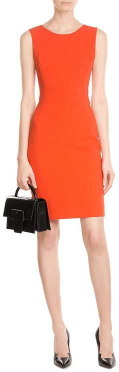 Emilio Pucci Emilio Pucci Virgin Wool Shift Dress