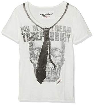 trueprodigy Casual Mens Clothes Funny and Cool Designer T-Shirts Shirt for Men with Design V-Neck Slim Fit Short Sleeve Sale, Size:S, Colours: