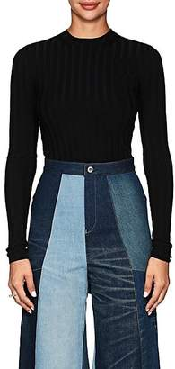 Acne Studios Women's Carina Rib-Knit Wool-Blend Top - Black